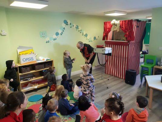 kids magician pre schools
